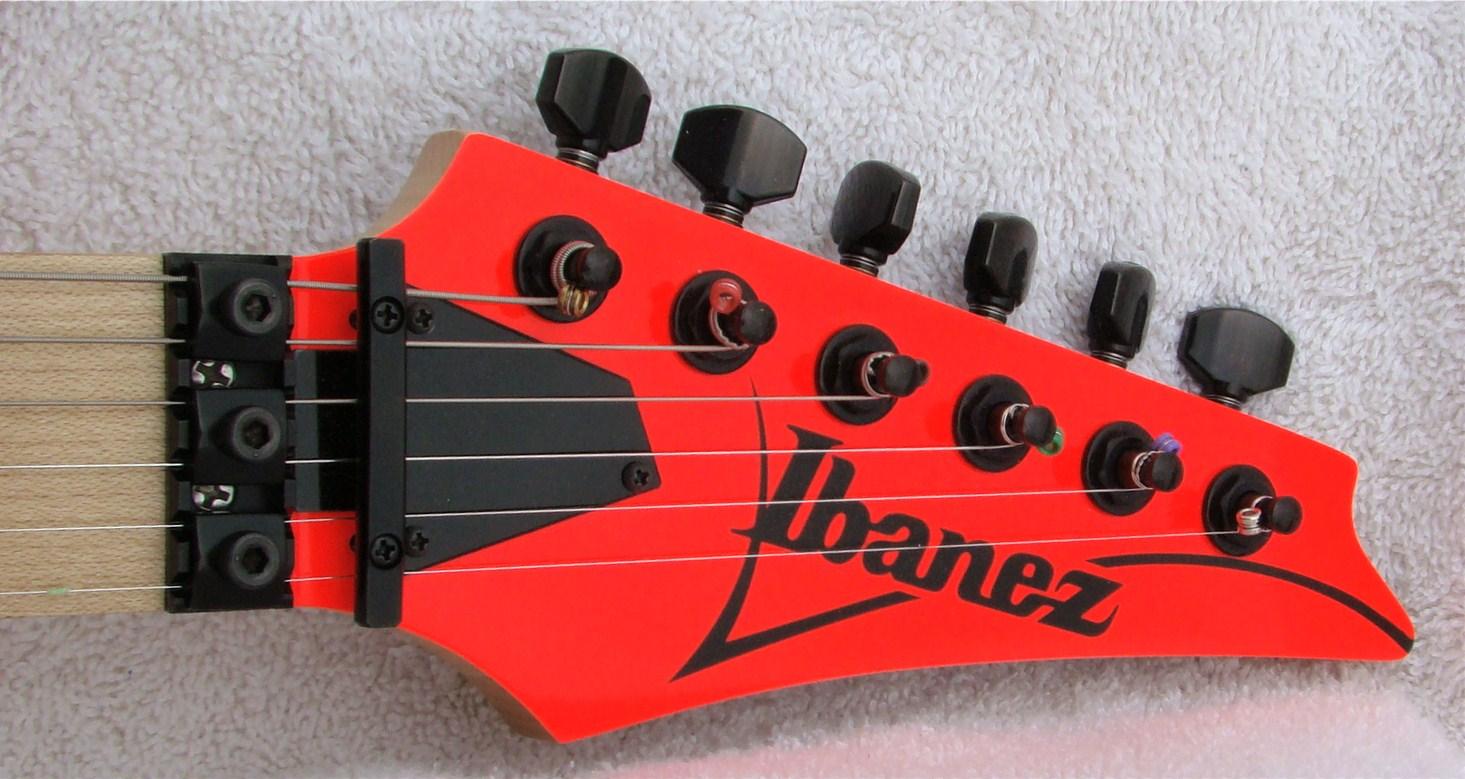2007 Ibanez Rg550mxx-rf