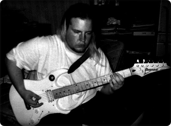 Atomic Fate Kev W/ Ibanez Rx20 Guitar