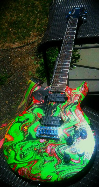 Ibanez Ax7221 Swirl By Pmc Guitars