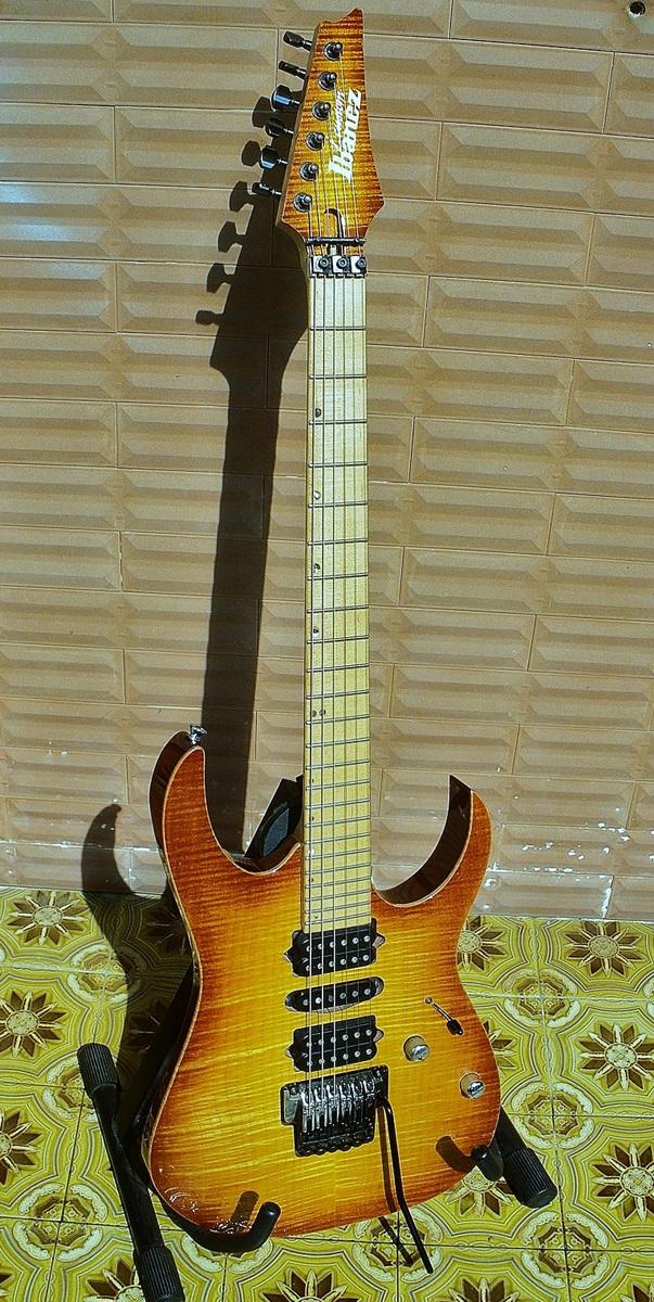 Ibanez Rg 8570 J-custom Limited Edition Maple Beaty
